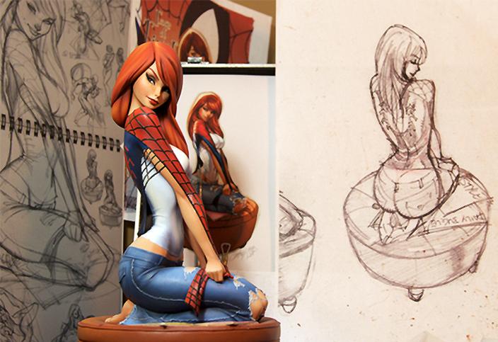 [Sideshow] Spider-Man: Mary Jane Comiquette - LANÇADA!!!! - Página 2 Mj_cq